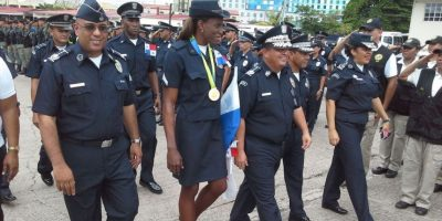 La agente policial que dejará de patrullar y buscará una medalla olímpica