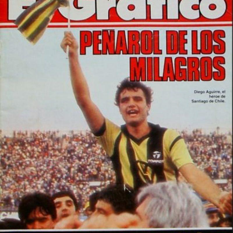 Uruguay ocupa el podio de los países campeones con 8 coronas. Peñarol aporta con cinco títulos Foto:Archivo revista El Gráfico