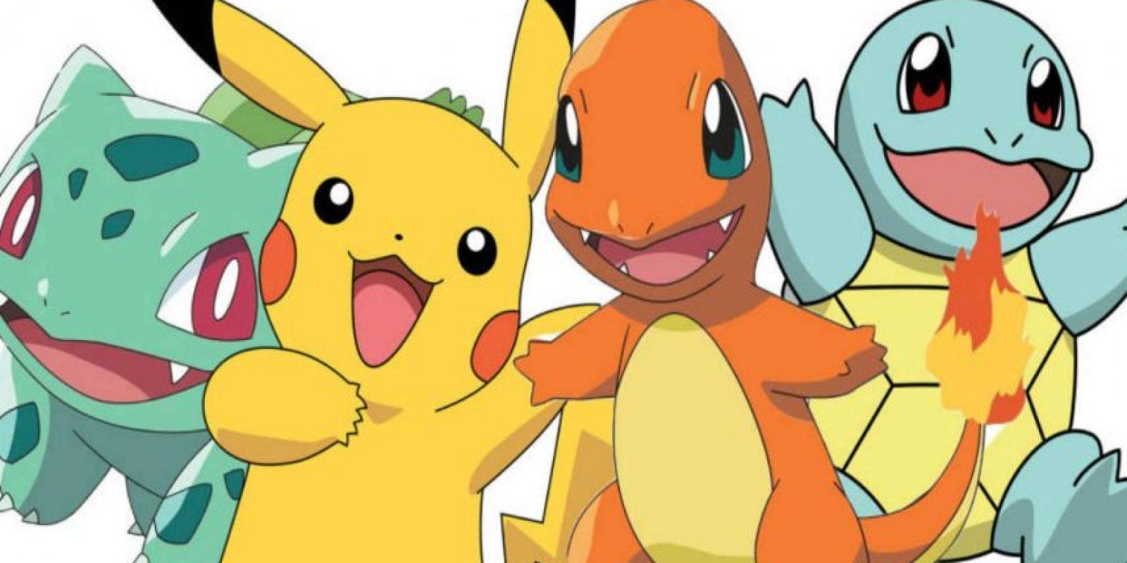 La gente está por las calles atrapando pokémon. Foto:Pokémon