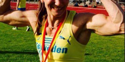 """Y fue nombrada la """"competidora más ruda con vida"""" Foto:facebook.com/mi.kel.5055"""