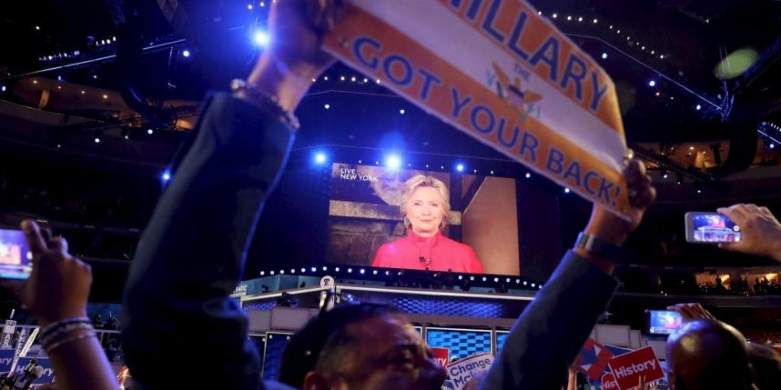 La Convención Demócrata ha reunido a diversas voces. Foto:Getty Images