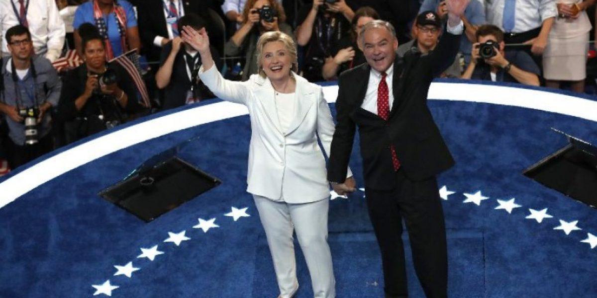 Clinton acepta nominación presidencial por el partido Demócrata