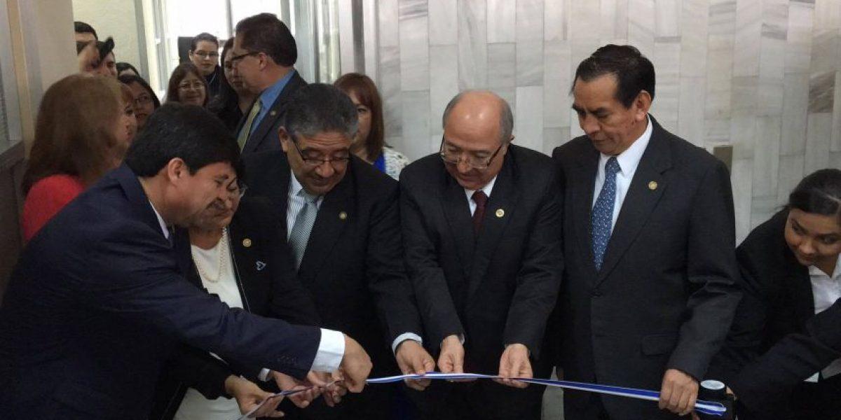Justicia se fortalece con inauguración de dos nuevos juzgados