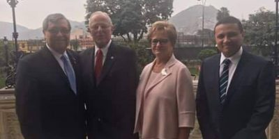 Vicepresidente visita Perú por toma de posesión de jefe de Estado