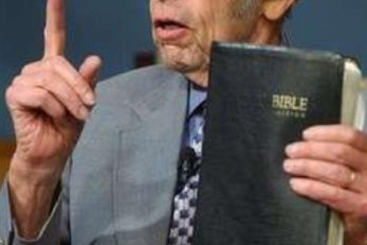 Según el locutor Harold Camping, en 2011 se acabaría el mundo con un fuerte terremoto. Foto:vía Getty Images