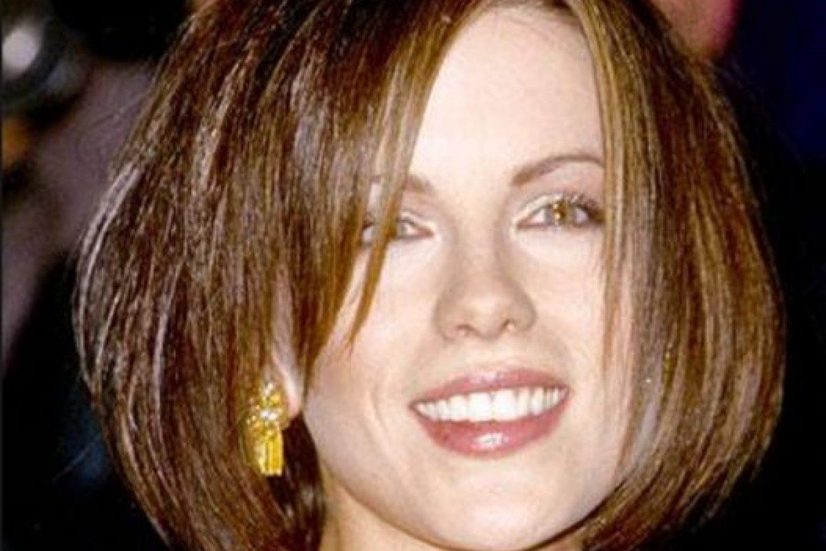 Kate Beckinsale no sabía cómo aprovechar su cabello oscuro. Foto:vía Getty Images
