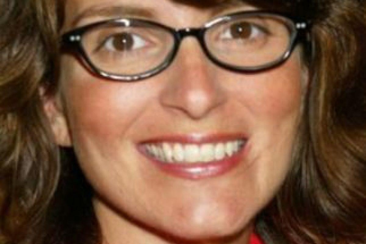 Tina Fey era toda una nerd. Foto:vía Getty Images