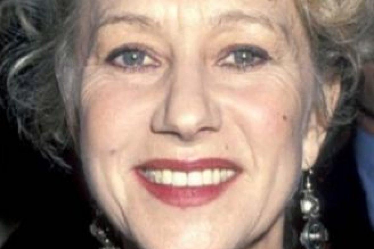 Helen Mirren se veía así a finales de sus cuarenta años. Foto:vía Getty Images