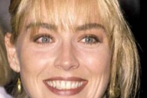 Sharon Stone también era guapa. Foto:vía Getty Images