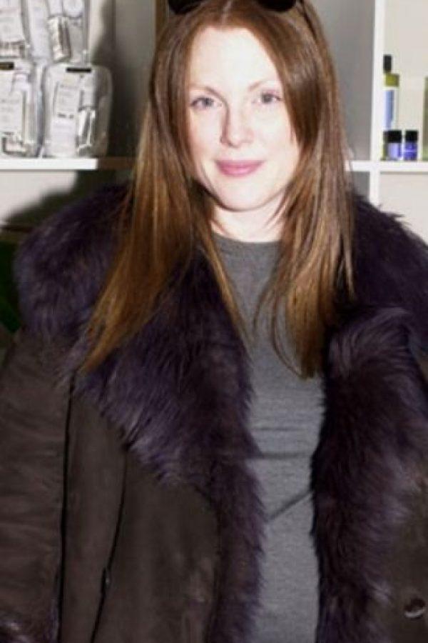 """Julianne Moore también lucía como """"una más"""". Foto:vía Getty Images"""