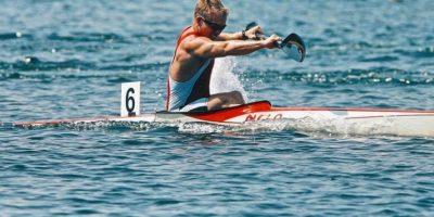 Connor Taras. Kayak de Canadá Foto:Instagram