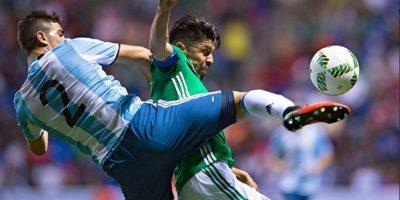 Los trasandinos empataron sin goles ante México en el amistos Foto:@Argentina en Twitter