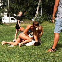Arrestó a un hombre que intentó robar el teléfono de su amiga Foto:AP