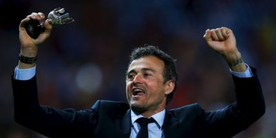 3.- Luis Enrique (Barcelona) Foto: Getty Images