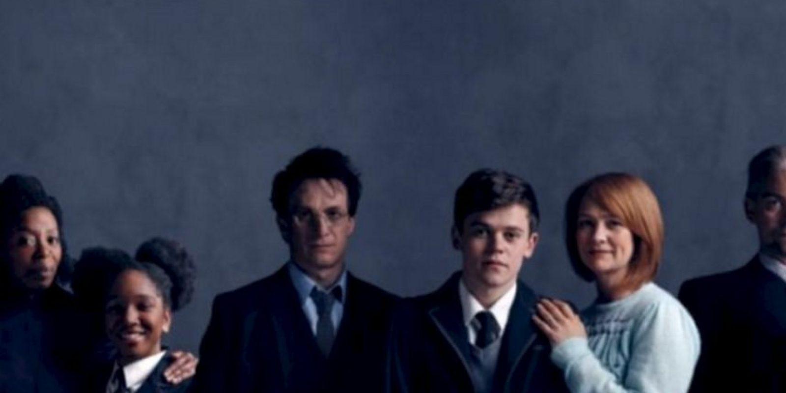 Los padres con sus hijos Foto:London Palace Theatre