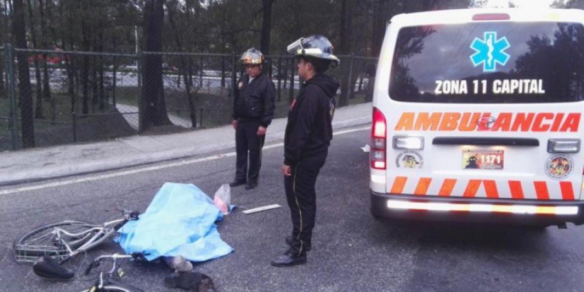¿Qué podría pasar con la persona que arrolló a un ciclista en el Anillo Periférico?