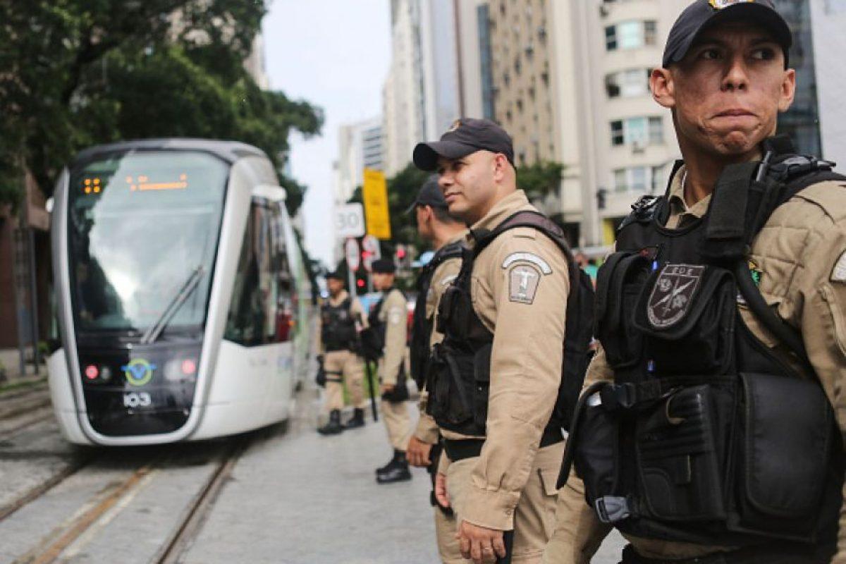 8. El fin de semana se inauguró una nueva línea de metro para poder transportar a los visitantes Foto:Getty Images