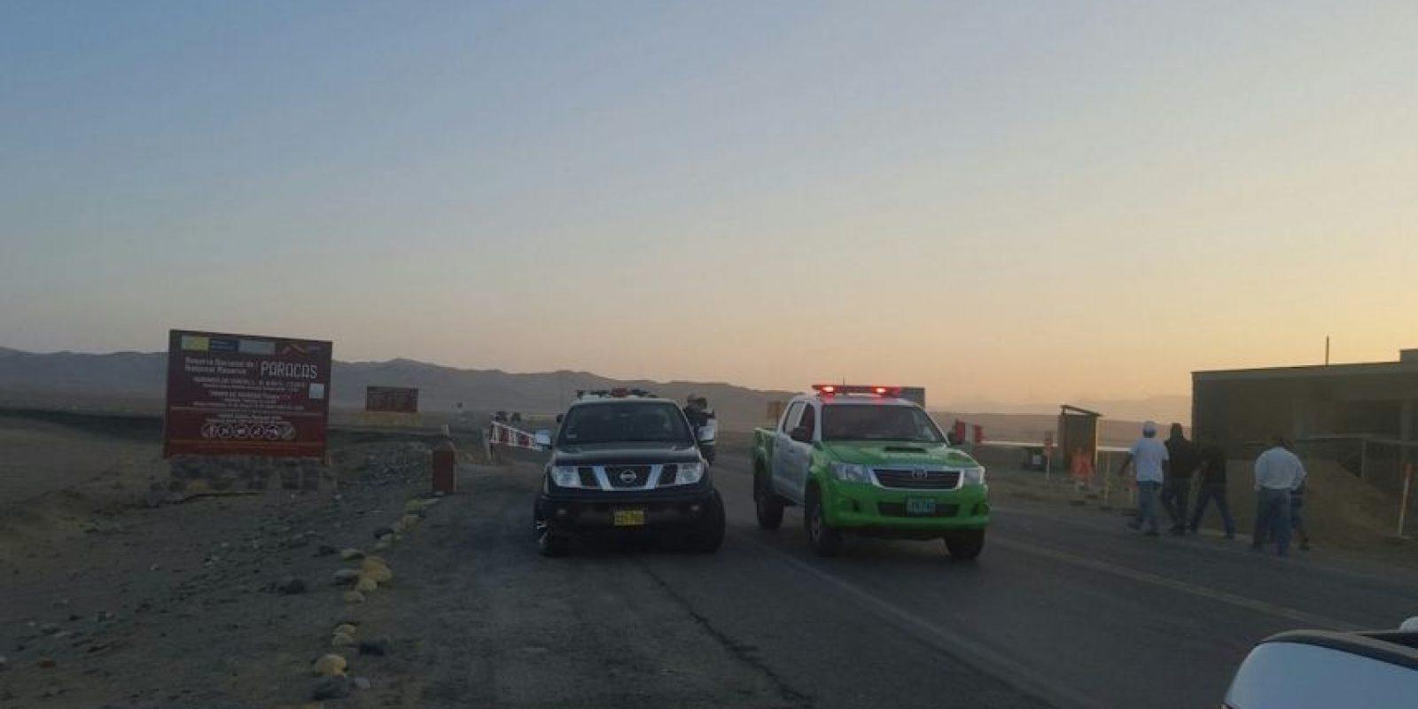 La actividad se detectó por un operador turístico Foto:Facebook.com/Sernanp-Oficial