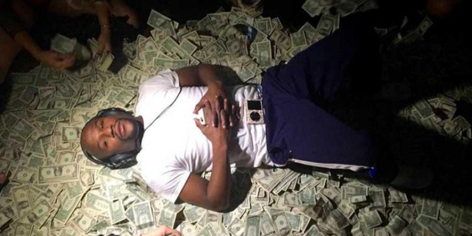 """Pues """"Money"""" no escatimó recursos para celebrar su cumpleaños 16. Foto:Vía instagram.com/floydmayweather"""
