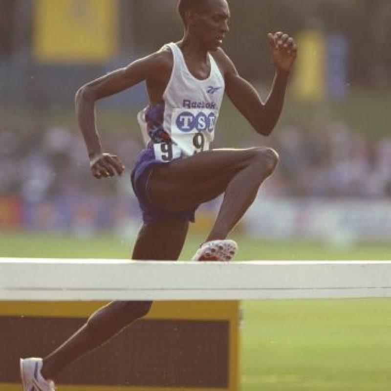 3000 metros obstáculos – Julius Kariuki (Kenia) Tiempo: 8:05.51 – Seúl 88 Foto:Getty Images