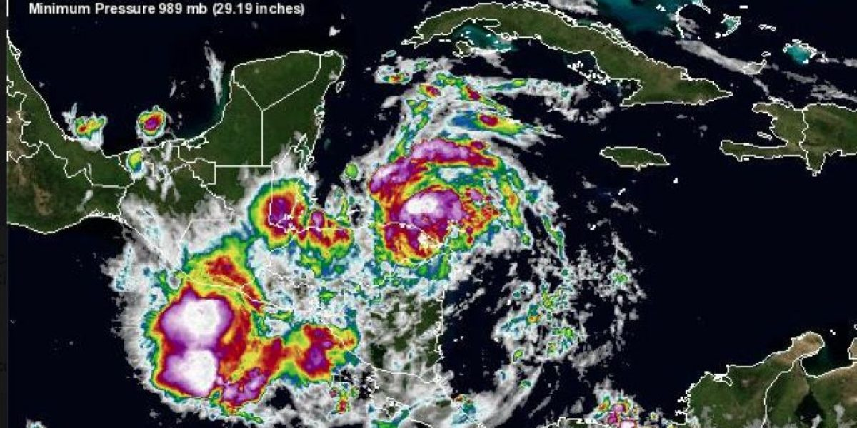 Tormenta tropical Earl impactará a Guatemala con lluvias y se fortalecerá a Huracán