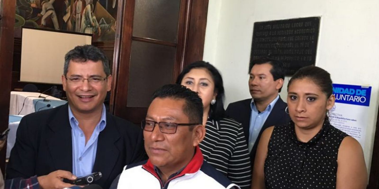 Diputados de Alianza Ciudadana en conferencia Foto:Publinews