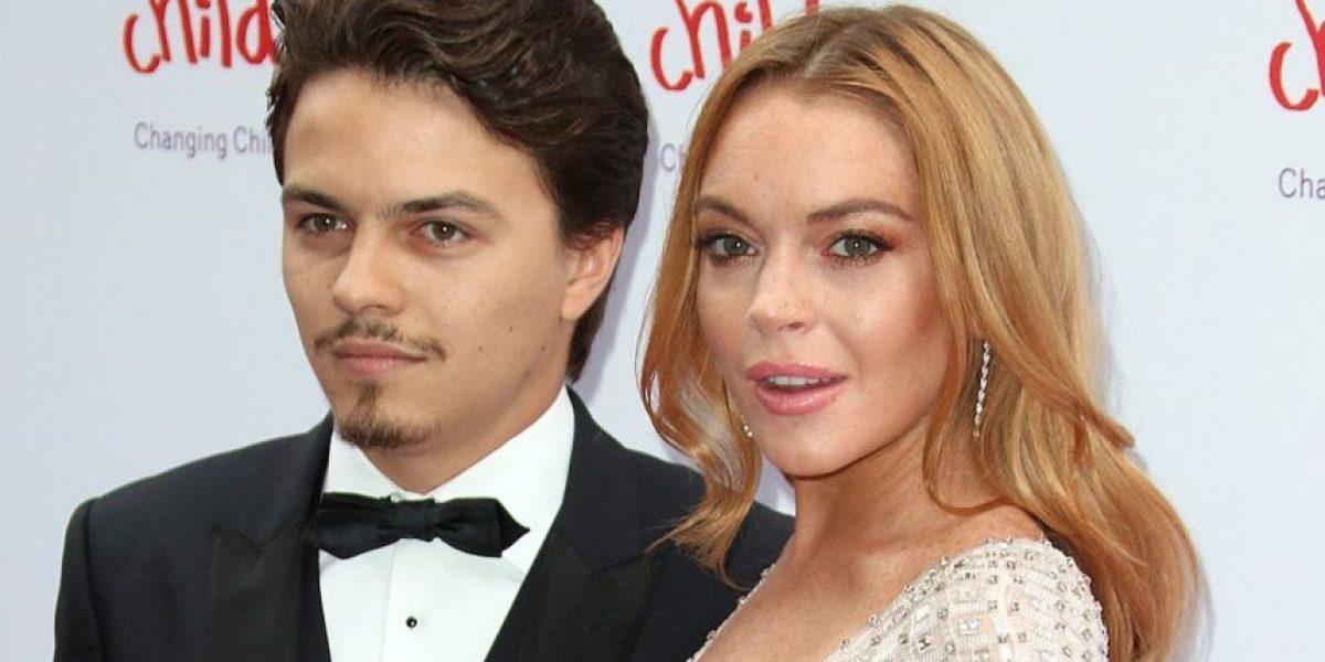 La foto que revela la brutal agresión que recibió Lindsay Lohan por su prometido
