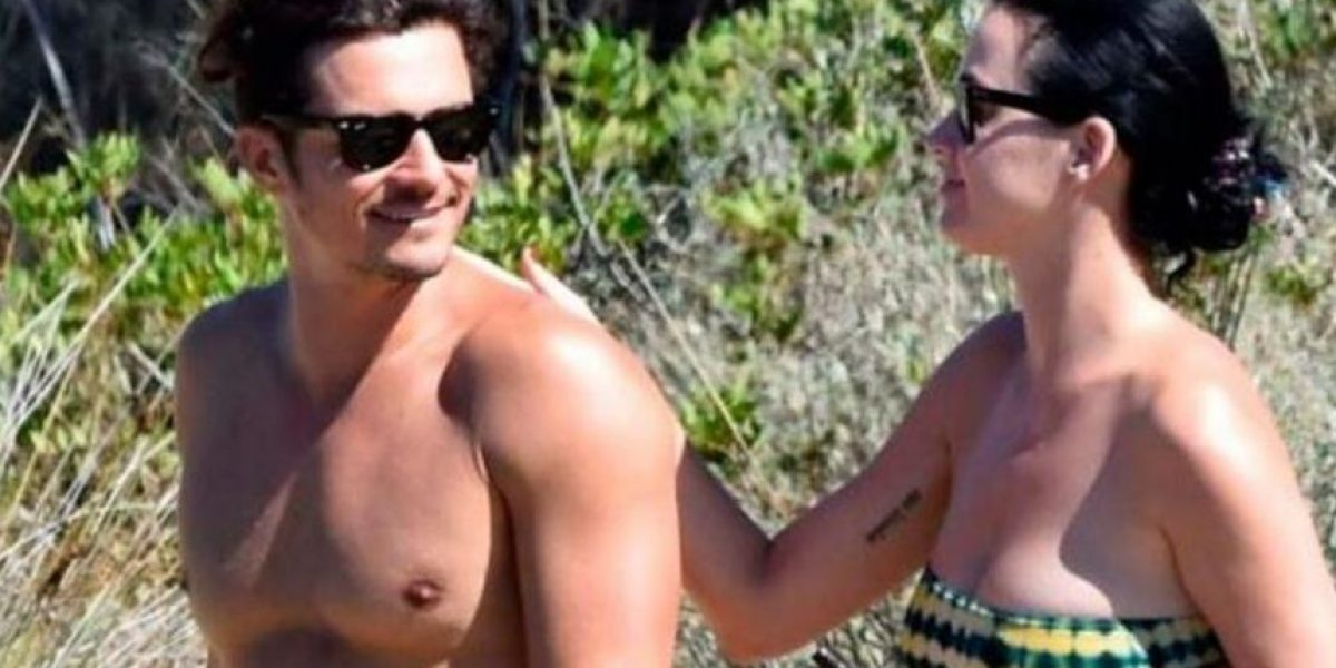 Las fotos sin censura de Orlando Bloom sin ropa en la playa junto a Katy Perry