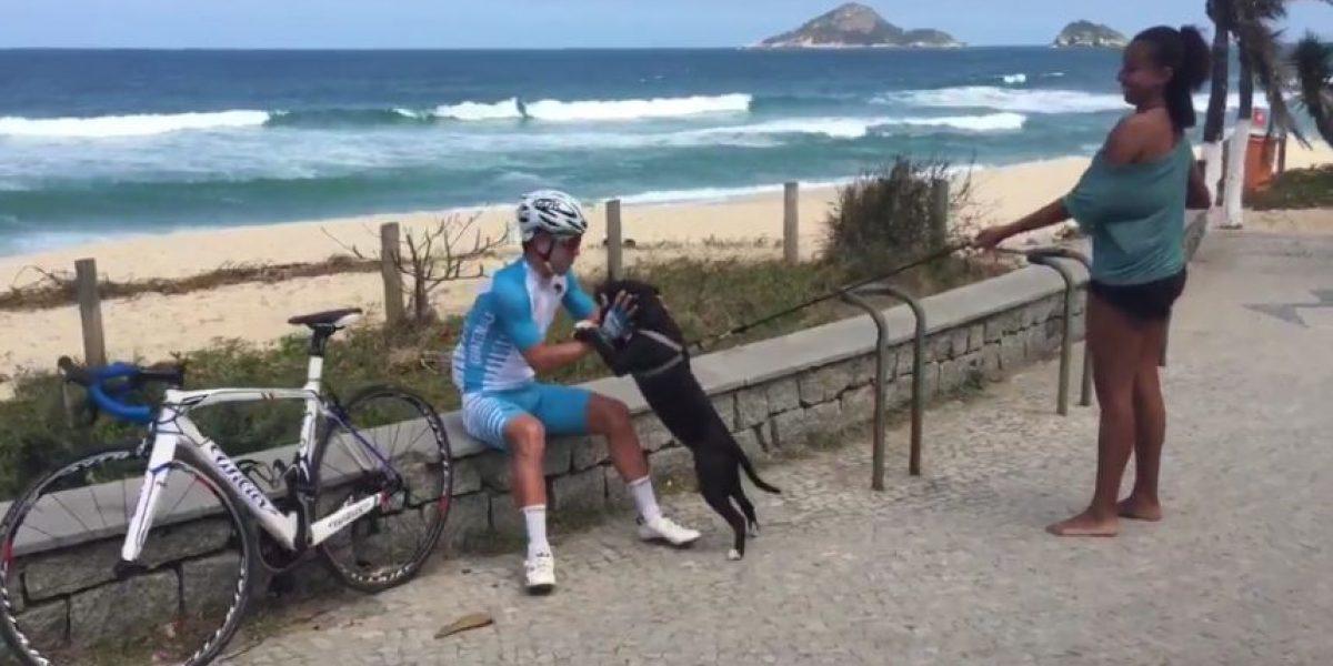 El primer guatemalteco que competirá en Rio recibe un saludo especial