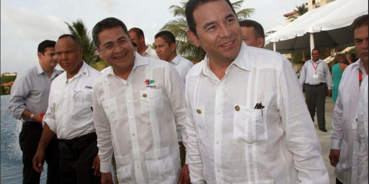 Por esta propuesta, el presidente de Honduras se reunirá en privado con Jimmy Morales