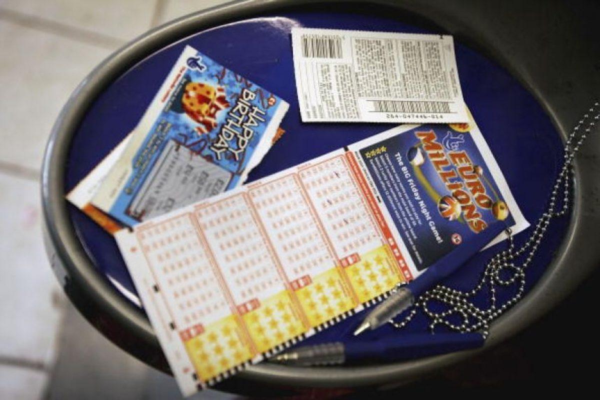 """La mujer ganó el premio mayor de la lotería """"EuroMillions"""" Foto:Getty Images"""