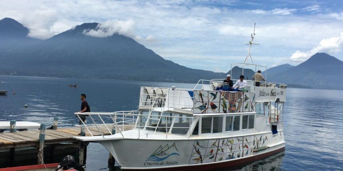 Navega, camina y relájate en el nuevo Crucero de Atitlán
