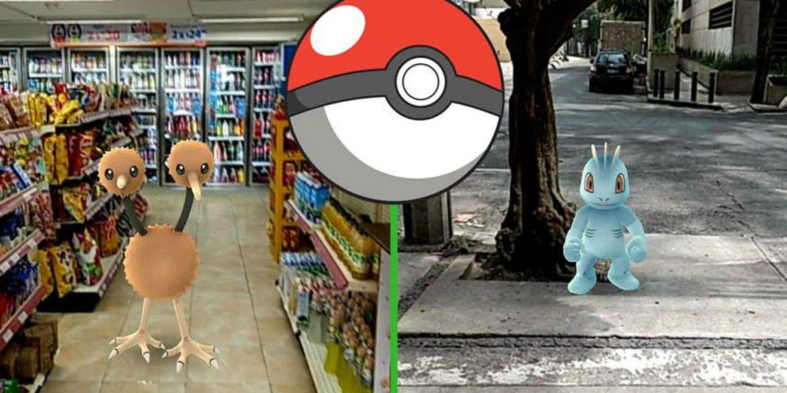 Las personas corren por las calles atrapando pokémon. Foto:Pokémon Go