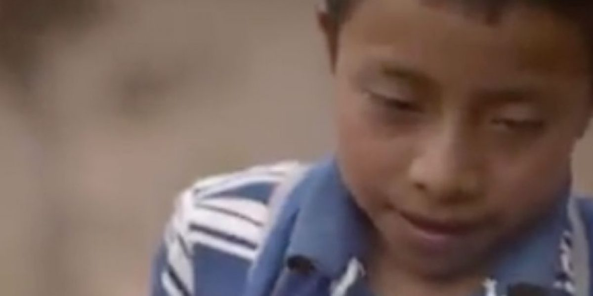 Video de comparación de un niño de Santa Cruz del Quiché con un extranjero te romperá el corazón