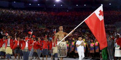 Pita Taufatofua de Tonga Foto:Getty Images