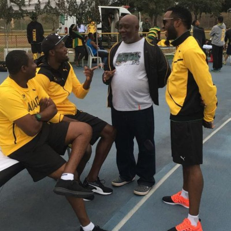 El equipo jamaicano de atletismo Foto:Instagram