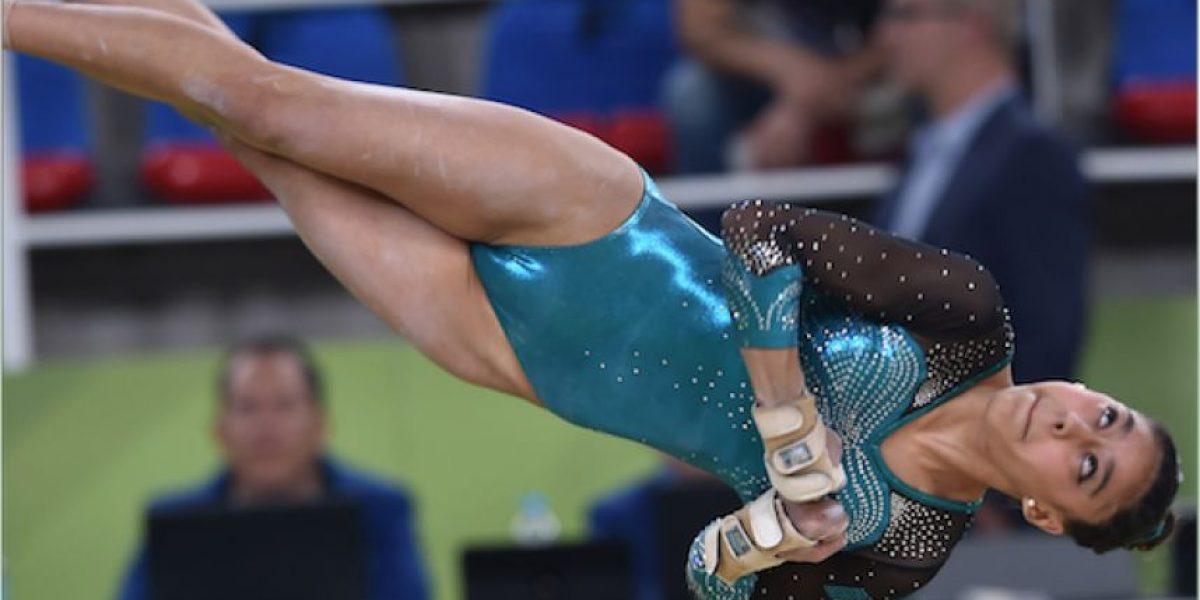 Ana Sofía Gómez se esfuerza al máximo pero queda lejos de la final