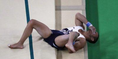 #Rio2016 Gimnasta francés que se rompió la pierna envía este mensaje desde el hospital