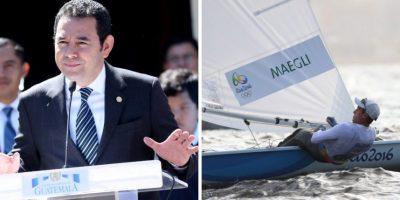 Con este mensaje, el presidente Jimmy Morales alienta a Juan Maegli