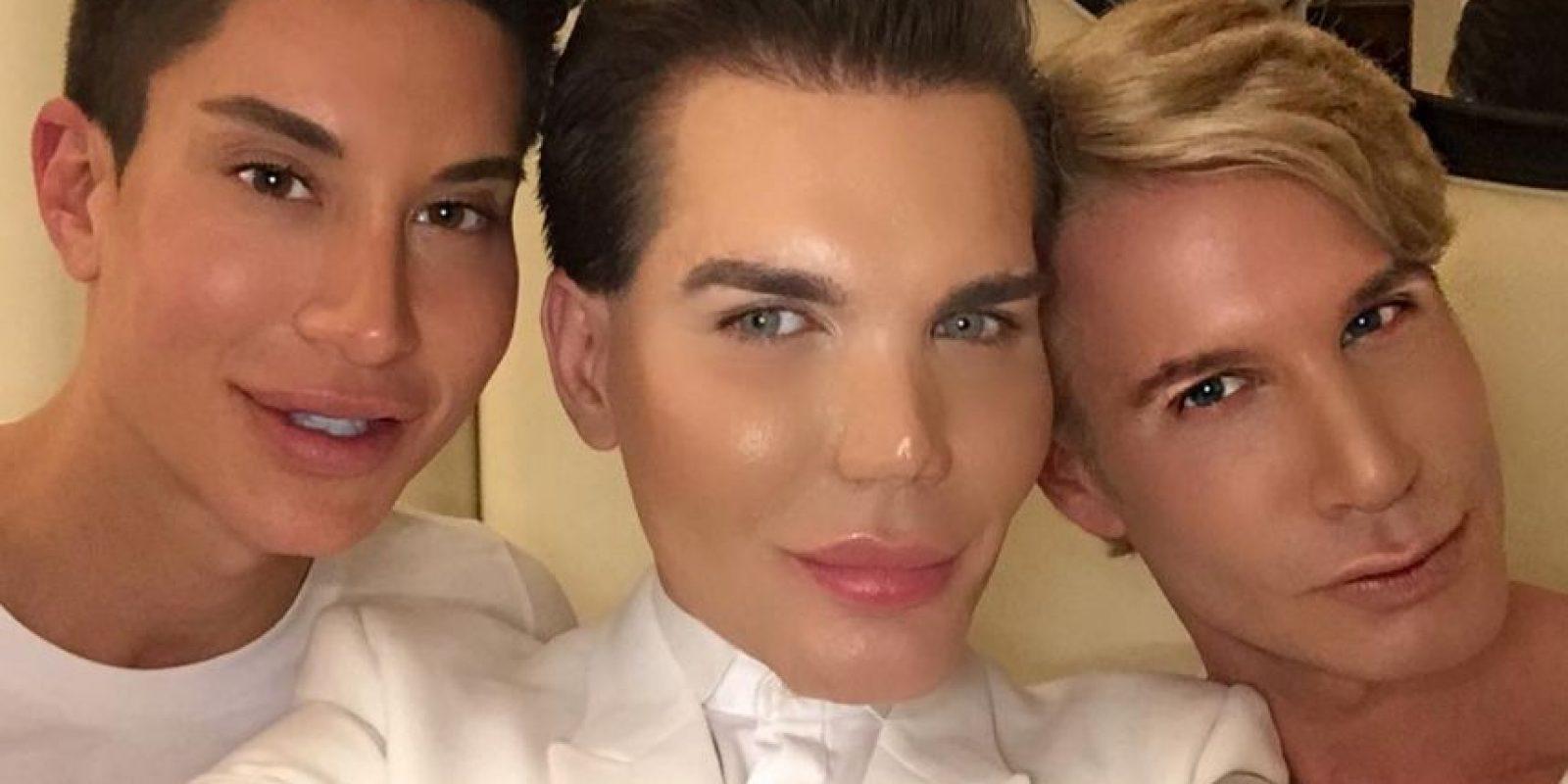 Rodrigo con Justin Jedlica. Foto:Instagram