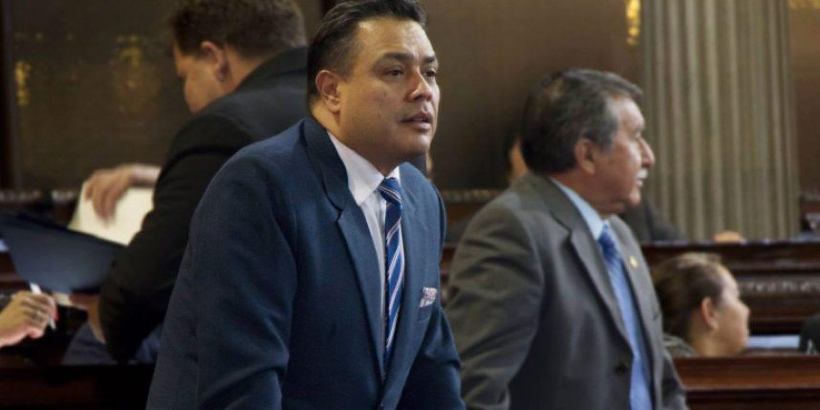 Javier Hernández, jefe de bancada de FCN-Nación Foto:Facebook