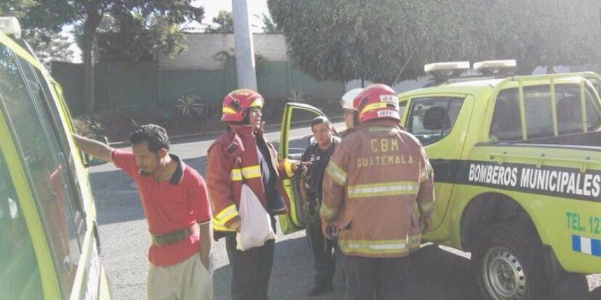 Fuga de amoníaco causa intoxicación a varias personas en zona 12