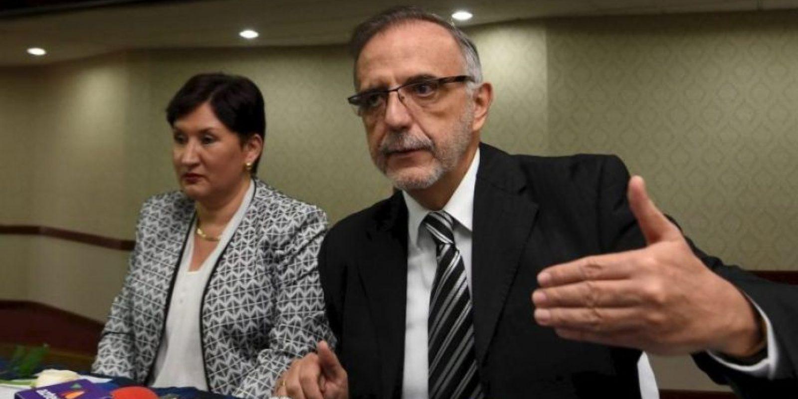 Iván Velásquez, comisionado de la CICIG junto con la fiscal general, Thelma Aldana Foto:Publinews