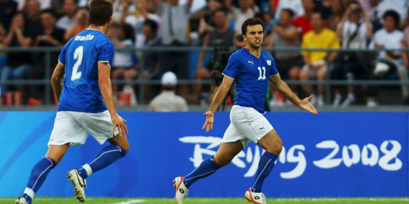 Beijing 2008: Giuseppe Rossi (Italia) – 4 goles, 4 partidos Foto:Getty Images