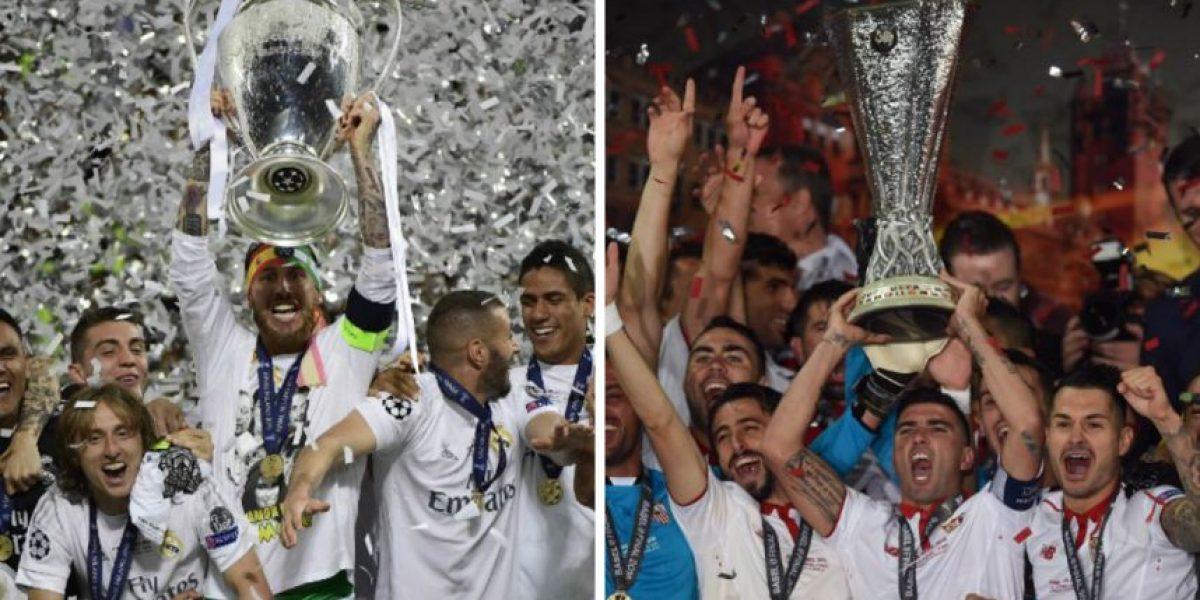 Supercopa de Europa: Real Madrid y Sevilla ante su primer título de la temporada