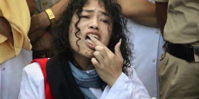 Ella se declaró inocente de los cargos de intento de suicidio Foto:AP