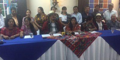 """Lanzan la campaña """"Nunca más una Guatemala sin todos los pueblos"""""""