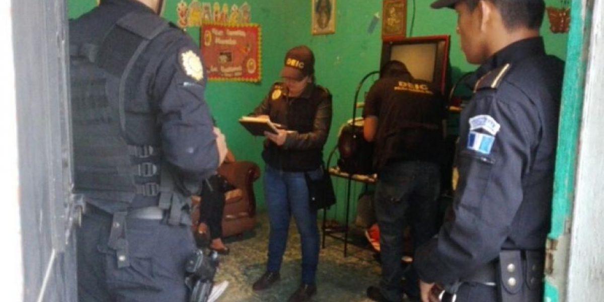 Realizan allanamientos en Amatitlán en busca de extorsionistas