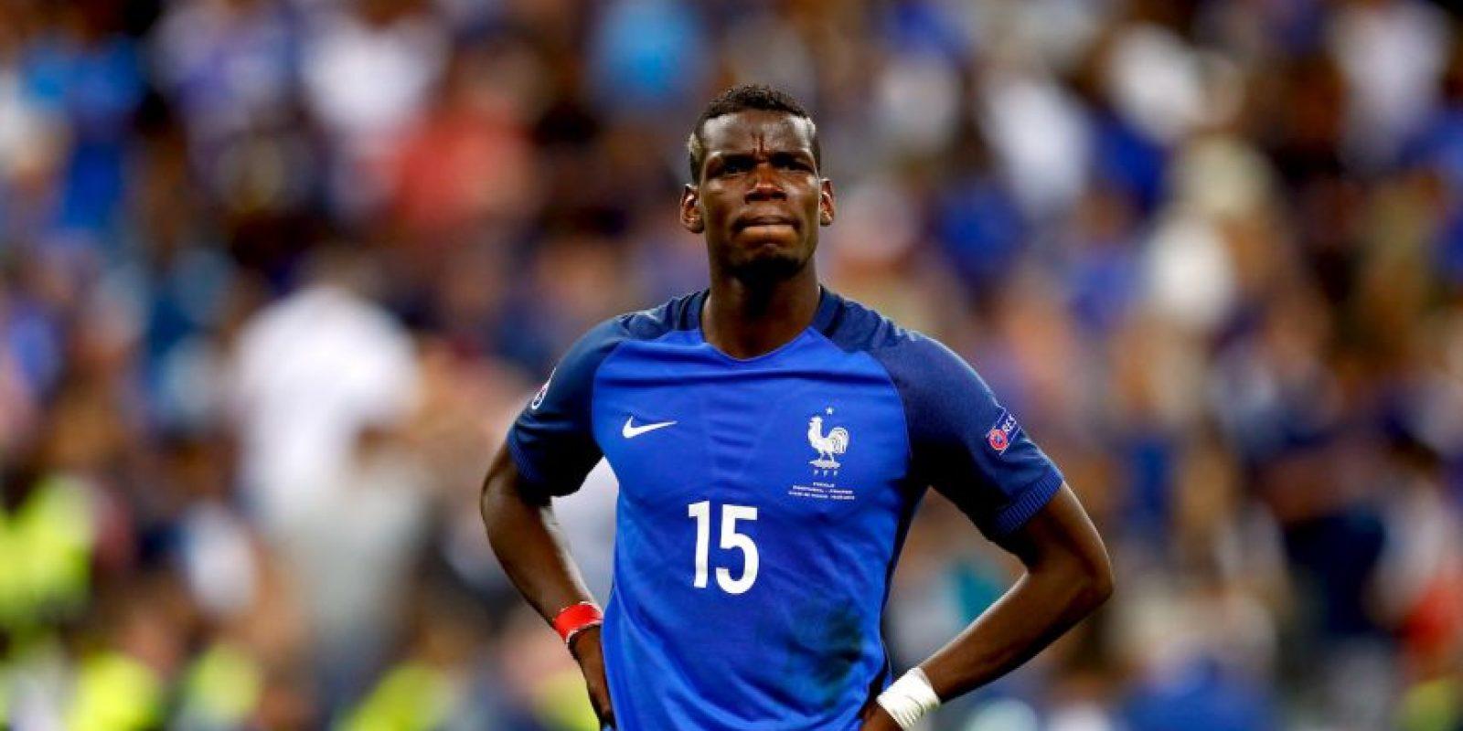 Manchester United pagó 116 millones de euros para recuperar al francés Foto:Getty Images