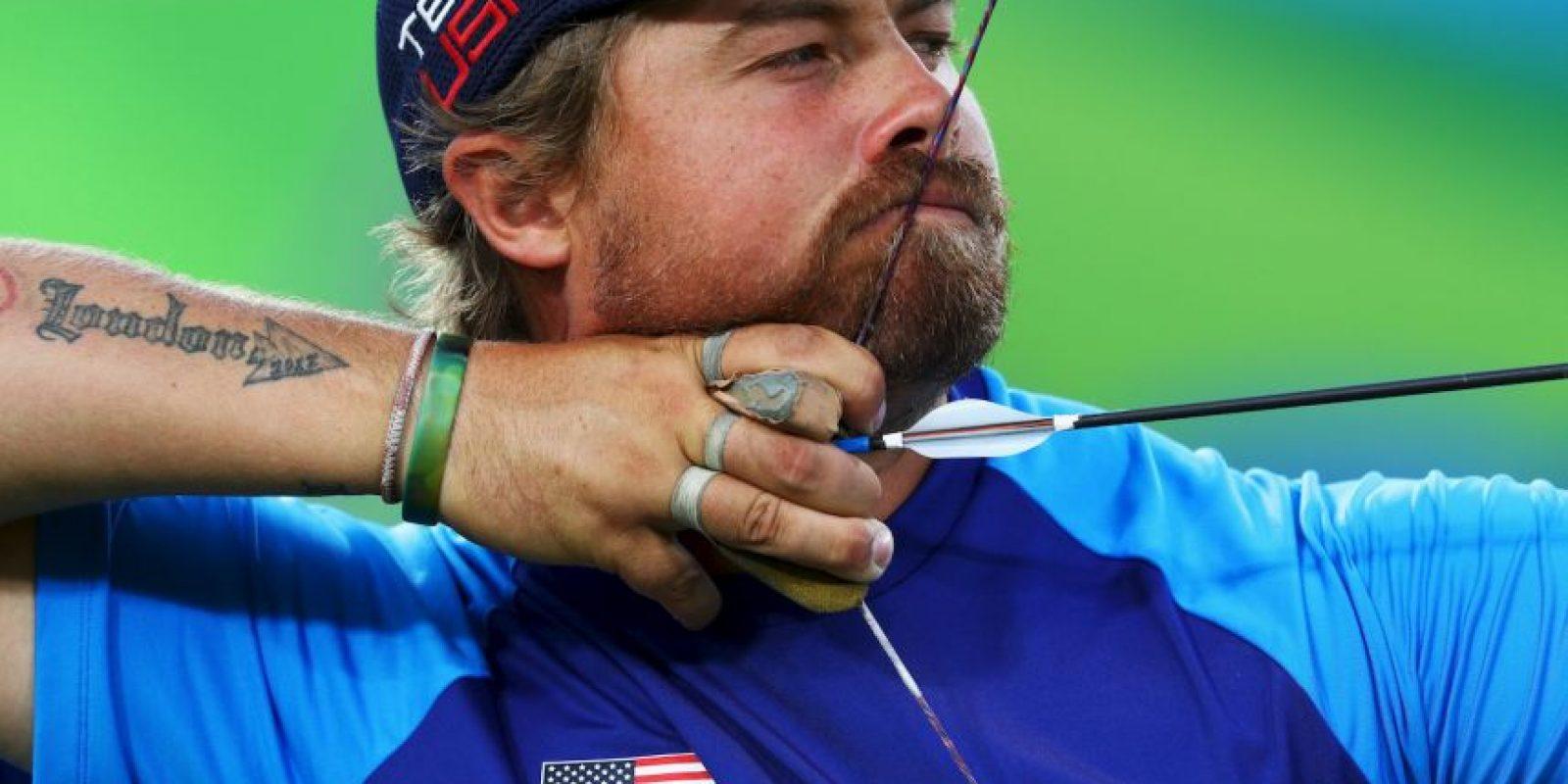Ganó medalla de plata en equipos, en tiro con arco Foto:Getty Images
